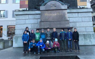 Auf Tells Spuren – 3./4. Klasse Spiringen