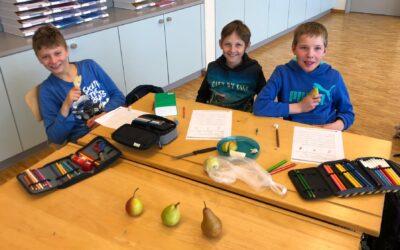 Food-Test der 4. Klasse Unterschächen