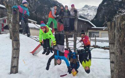 Winterspiele zum Jahresabschluss, Primarschule Unterschächen
