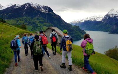 Spezialprogramm Freitag: Weg der Schweiz, 5./6. Klasse Spiringen