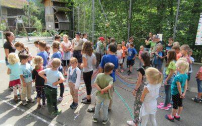 Götti-Gotti Einteilung, Primarschule Spiringen/Kindergarten