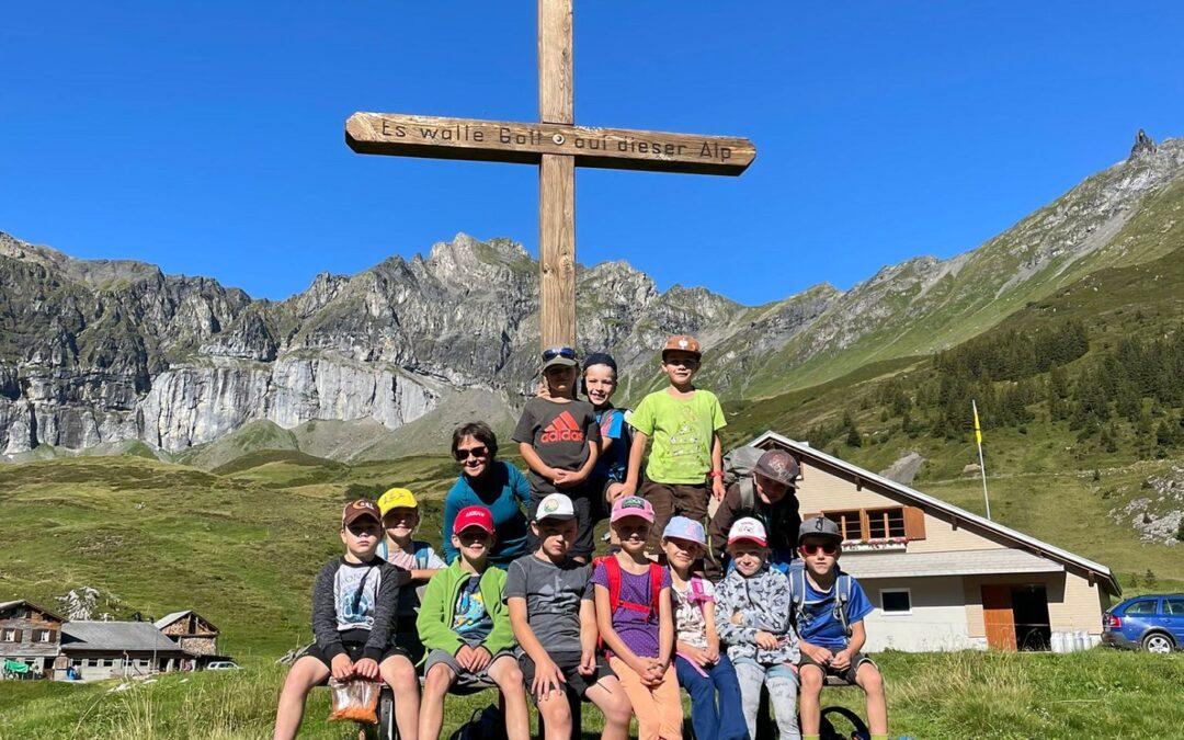 Herbstwanderung, Primarschule Spiringen
